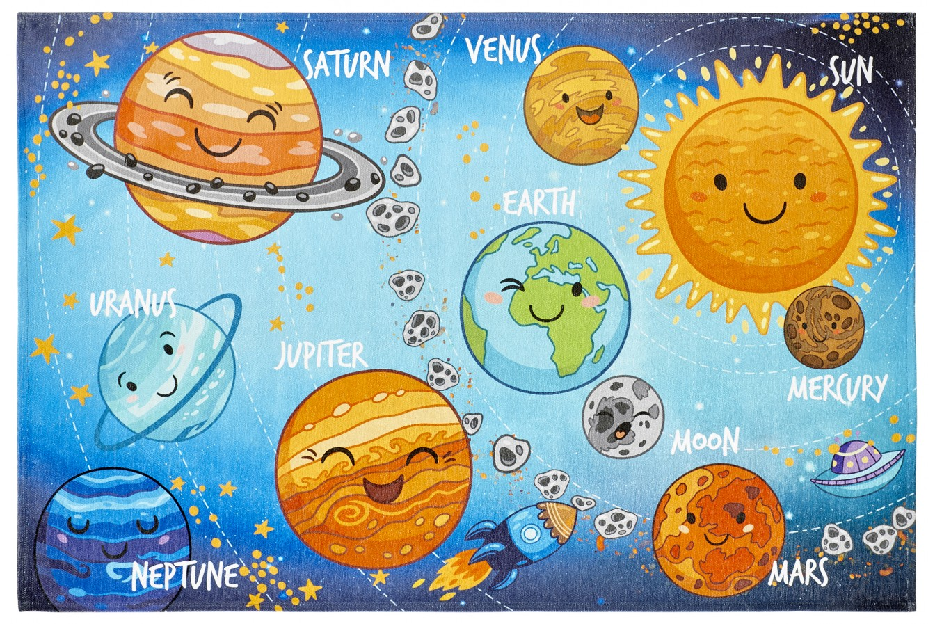 Dywan Obsession Torino Kids TOK 230 Solar System
