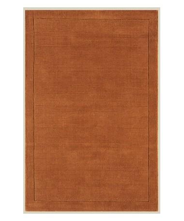 Dywan Wełniany Indyjski York Terakota
