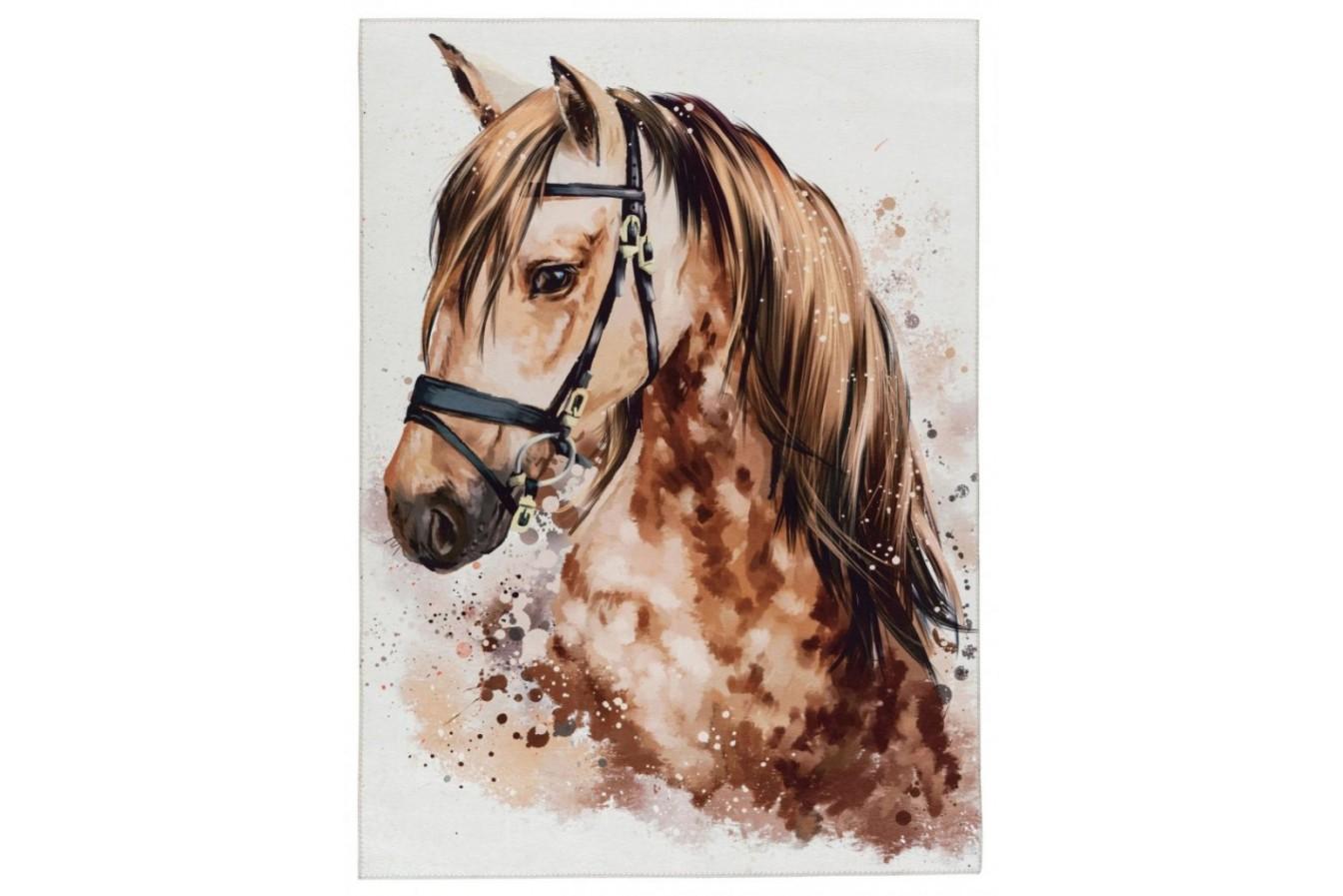 Piękny wizerunek konia, brązowy,  Torrino Kids 236 Brown Beauty