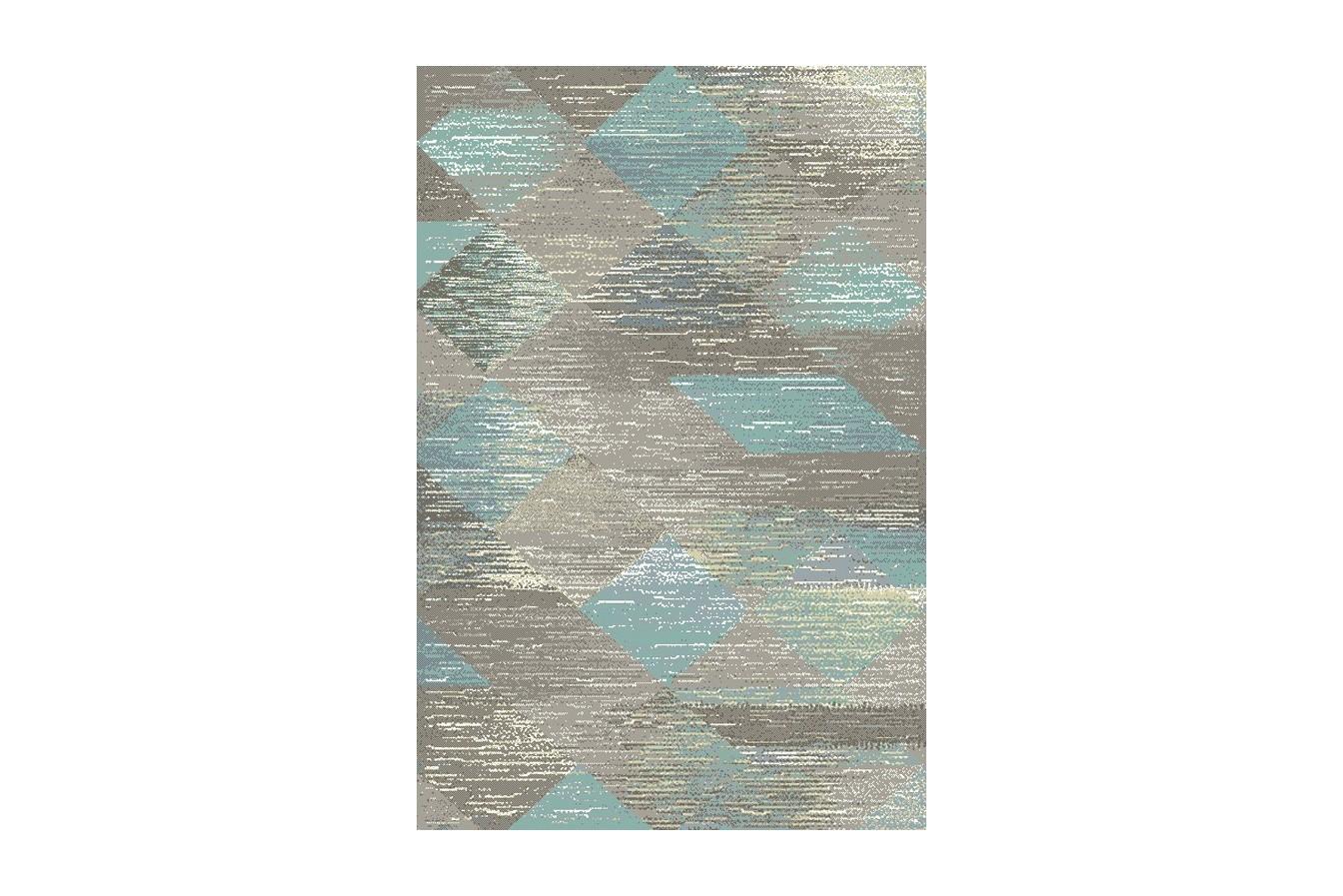 Dywan Niebieski/ Nowoczesny/Młodzieżowy  Dywilan Free Steel Mint