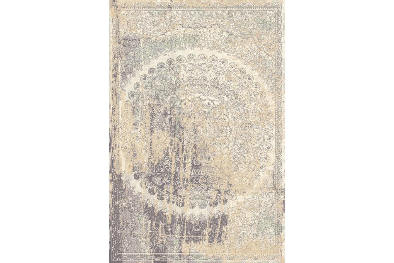 Modny Vintage Dywan Agnella Isfahan Lidius Piaskowy