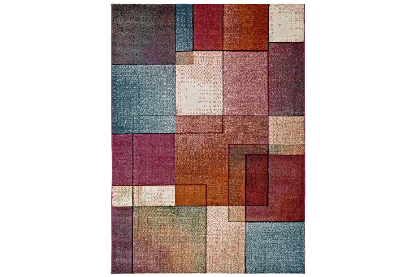 Nowoczesna Geometria Kolorowy Dywan Universal Lucy 25015 21 Multi