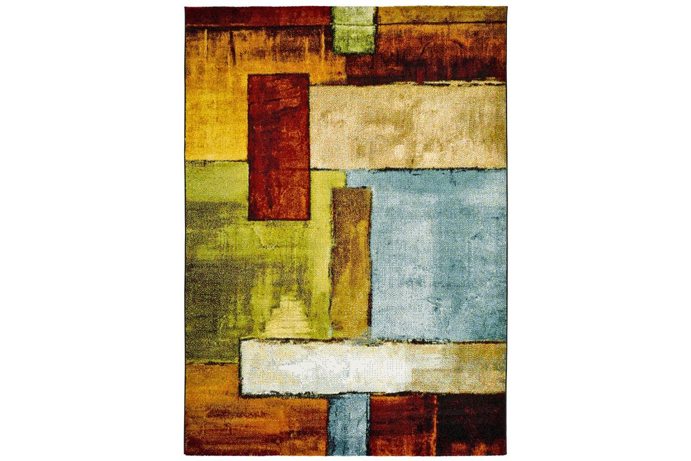 Nowoczesna Geometria Kolorowy Dywan Universal Lucy 20751 21 Multi