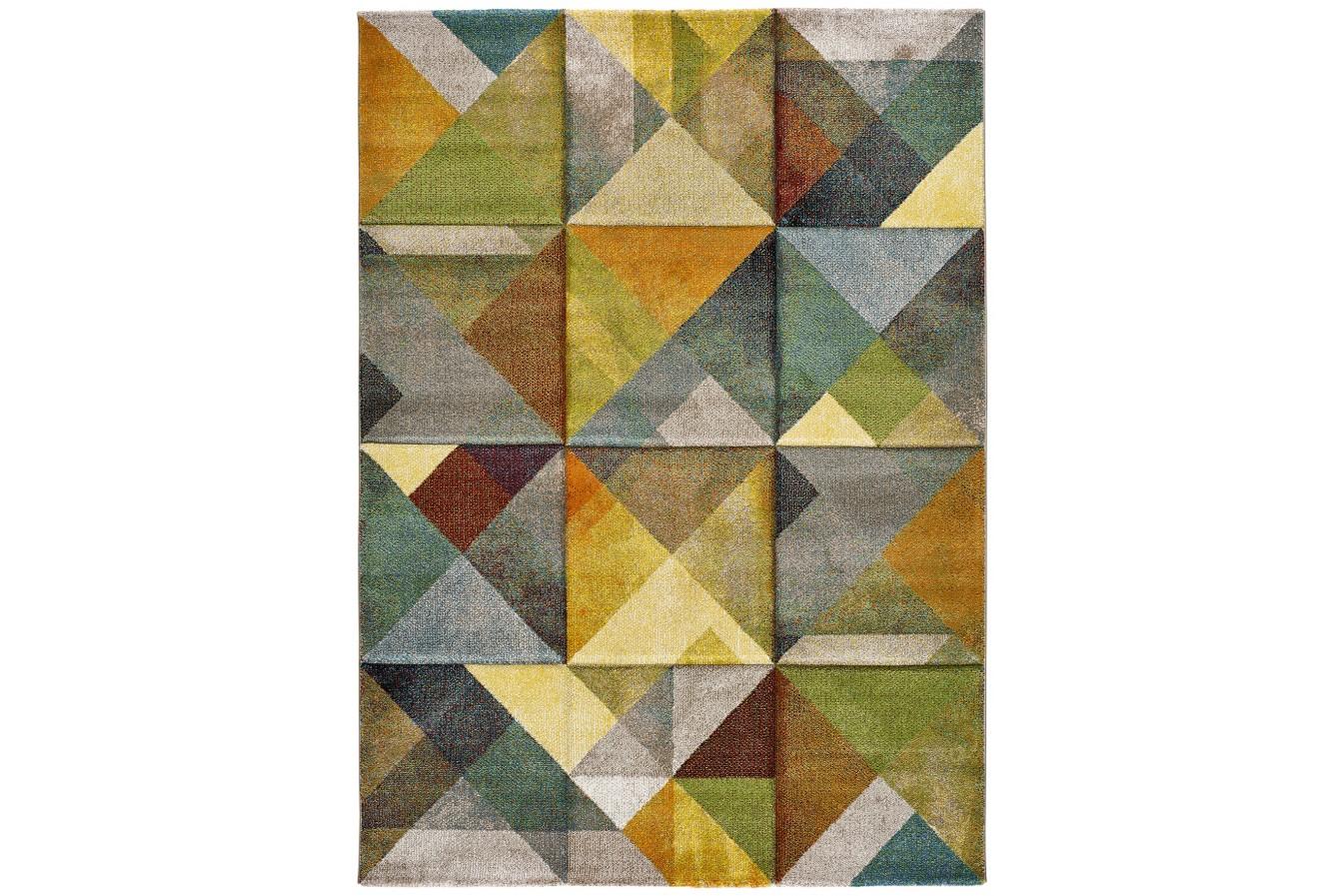 Modny Kolorowy Geometryczny Dywan Universal Matrix 24064 21 Multi