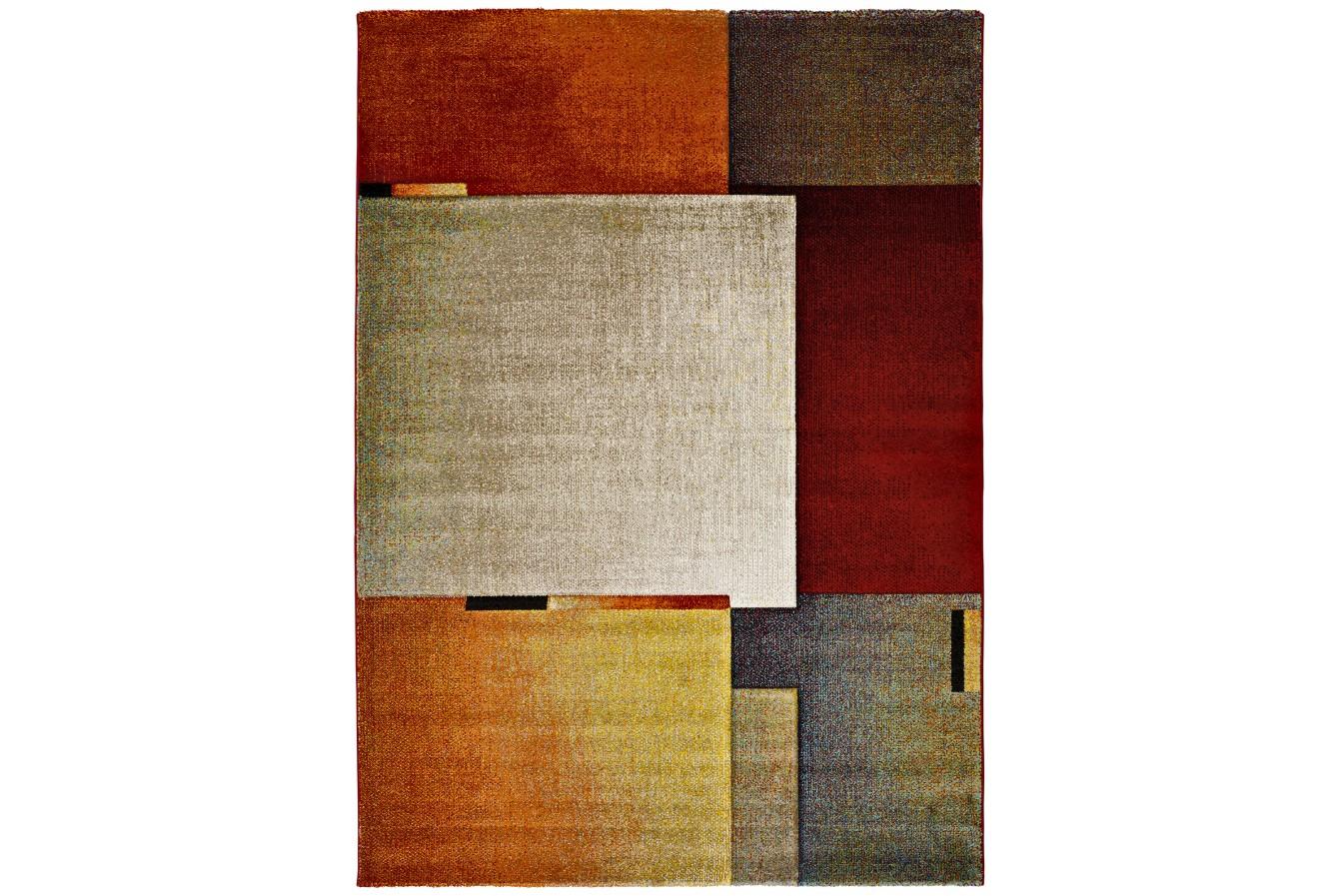 Modny Kolorowy Geometryczny Dywan Universal Matrix 22334 21 Multi