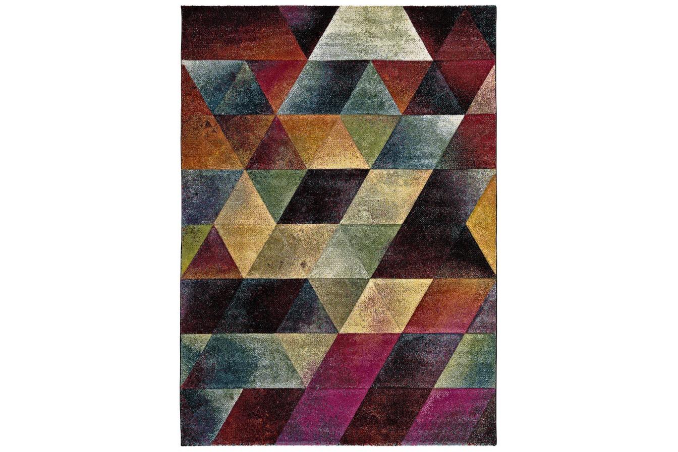 Modny Kolorowy Geometryczny Dywan Universal Matrix 21423 21 Multi
