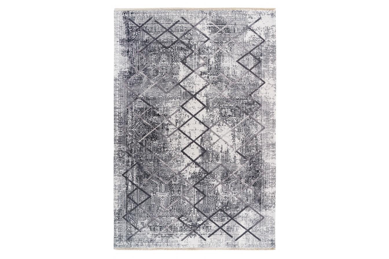 Dywan Vintage Szary Geometryczny Zewnętrzny Obsession Valencia 633 Grey