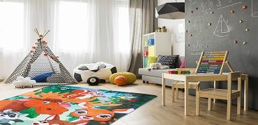 Dywan w stylu Dziecięcych